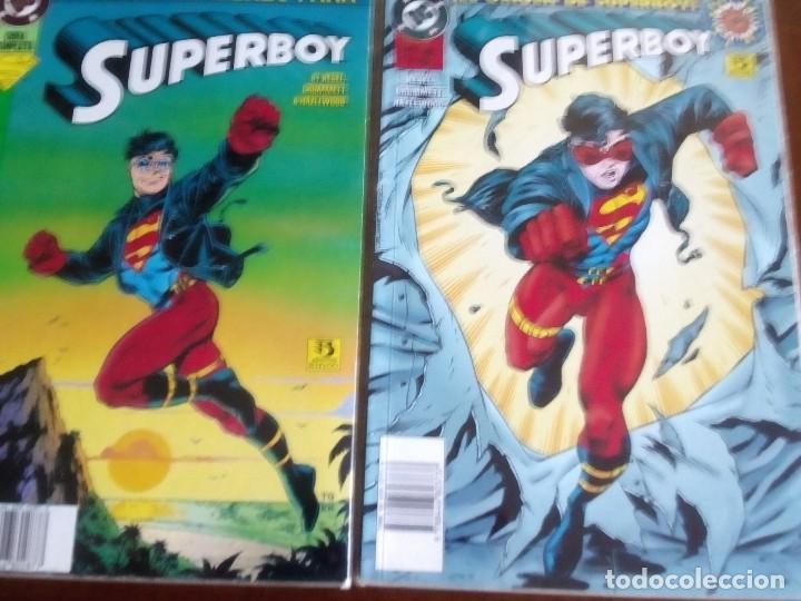 SUPERBOY 2 TOMOS COMPLETA L2P4 (Tebeos y Comics - Zinco - Otros)