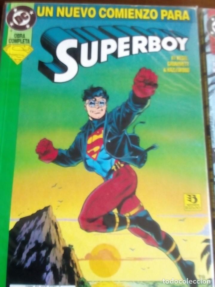 Cómics: SUPERBOY 2 TOMOS COMPLETA L2P4 - Foto 2 - 64337599