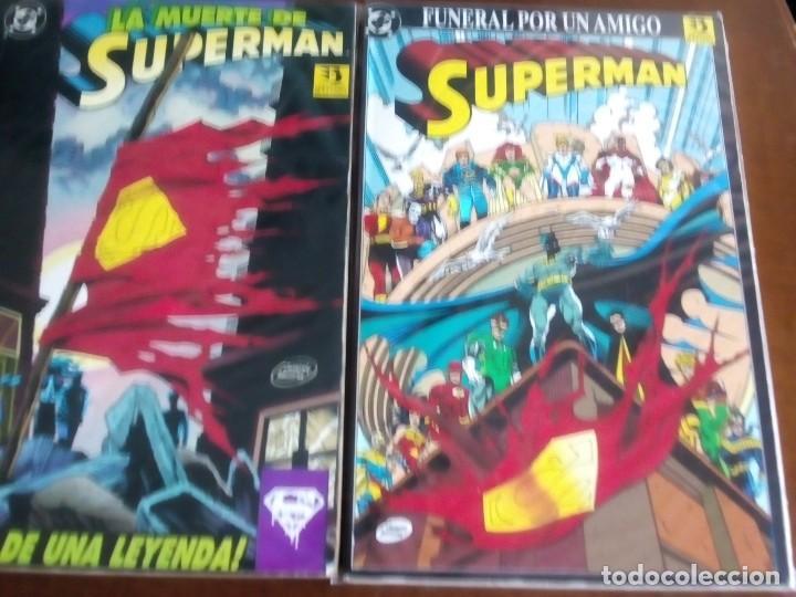 SUPERMAN 2 TOMOS BUSCADISIMOS L2P4 (Tebeos y Comics - Zinco - Otros)