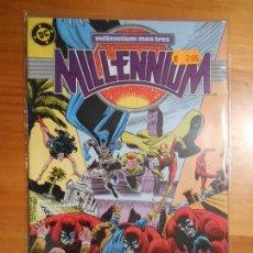 Cómics: MILLENNIUM Nº 3 - DC - ZINCO (U2). Lote 65031067