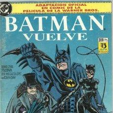 Cómics: BATMAN VUELVE - EDICIONES ZINCO. Lote 66042650