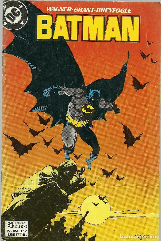 BATMAN Nº 27 - EDICIONES ZINCO (Tebeos y Comics - Zinco - Batman)