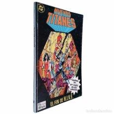 Cómics: NUEVOS TITANES / RETAPADO 8 (CONTIENE LOS NºS 36 A 40) DC / ZINCO1987 (MARV WOLFMAN & GEORGE PEREZ). Lote 52934205