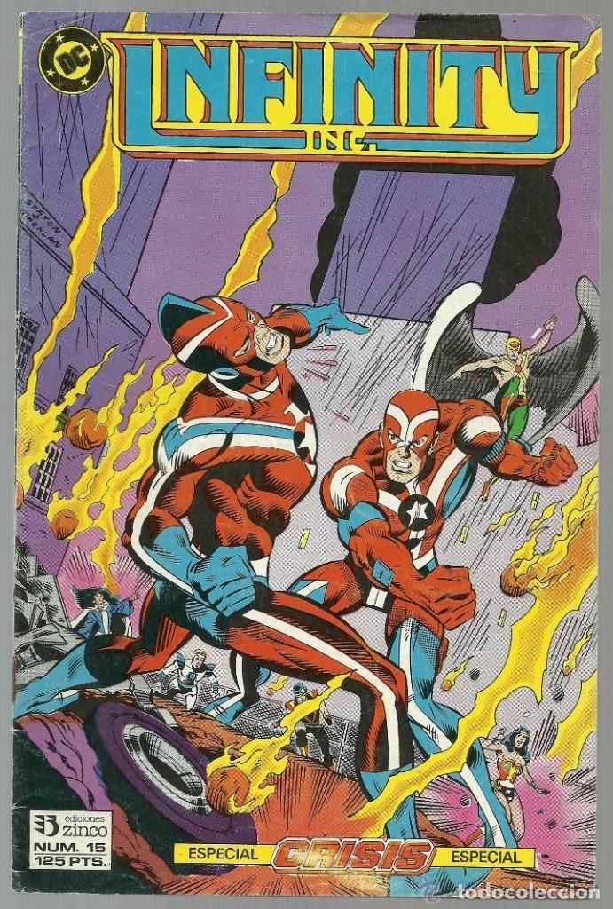 INFINITY Nº 15 - EDICIONES ZINCO (Tebeos y Comics - Zinco - Infinity Inc)
