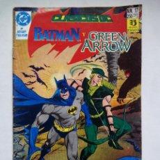 Comics: CLÁSICOS DC. BATMAN Y GREEN ARROW. Nº 17. ¡HAN DISPARADO AL SENADOR!. ESPAÑA 1990.. Lote 86695155
