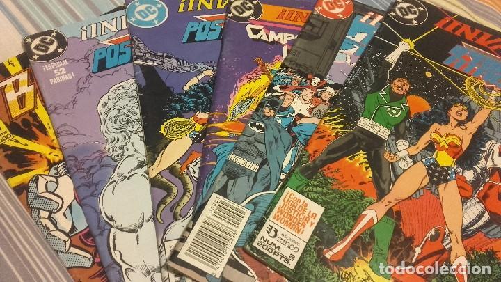 LOTE INVASIÓN ! ZINCO NºS 2 3 4 5 Y 8 - CRUCES WONDER WOMAN Y LIGA DE LA JUSTICI AMÉRICA - BLASTERS (Tebeos y Comics - Zinco - Otros)