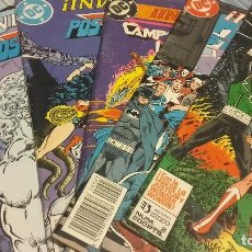 Cómics: LOTE INVASIÓN ! ZINCO NºS 2 3 4 5 Y 8 - CRUCES WONDER WOMAN Y LIGA DE LA JUSTICI AMÉRICA - BLASTERS. Lote 67512725