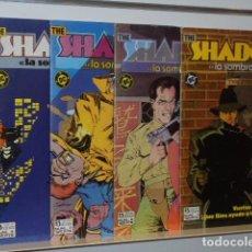 Cómics: THE SHADOW LA SOMBRA - HOWAR CHAYKIN - COMPLETA 4 NUMS. ZINCO. Lote 96020440