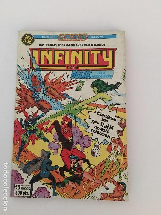 INFINITY INC. : ESPECIAL CRISIS. TOMO 3. [RETAPADO. NÚMS. 11-14] (Tebeos y Comics - Zinco - Infinity Inc)