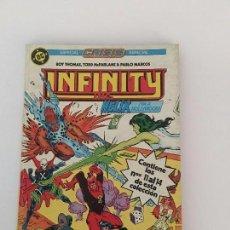 Cómics: INFINITY INC. : ESPECIAL CRISIS. TOMO 3. [RETAPADO. NÚMS. 11-14]. Lote 68614073