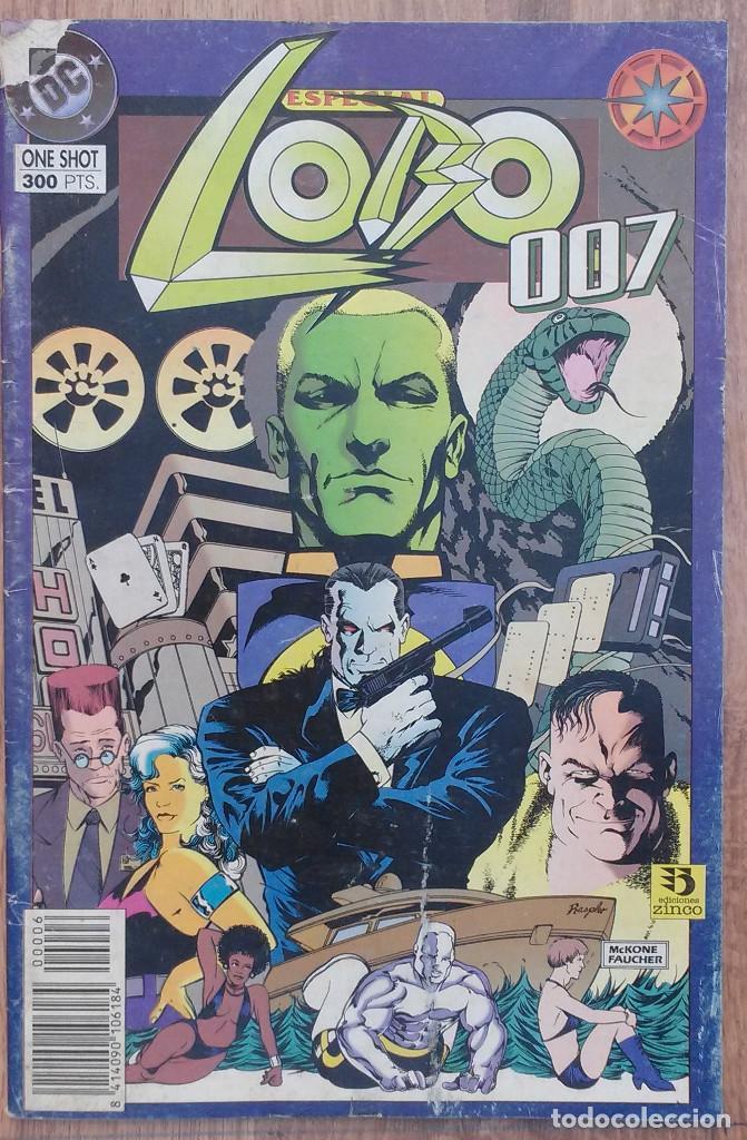 LOBO 007 ONE SHOT DC EDICICIONES ZINCO 1995 (COLOR) (Tebeos y Comics - Zinco - Lobo)