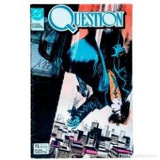Cómics: QUESTION Nº 1 / DC / ZINCO 1988 (DENNIS O'NEIL & DENYS COWAN). Lote 52515190