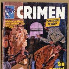 Cómics: CRIMEN SUCESOS REALES Nº 38 RELATOS GRÁFICOS PARA ADULTOS - ZINCO - 1981 . Lote 69285133