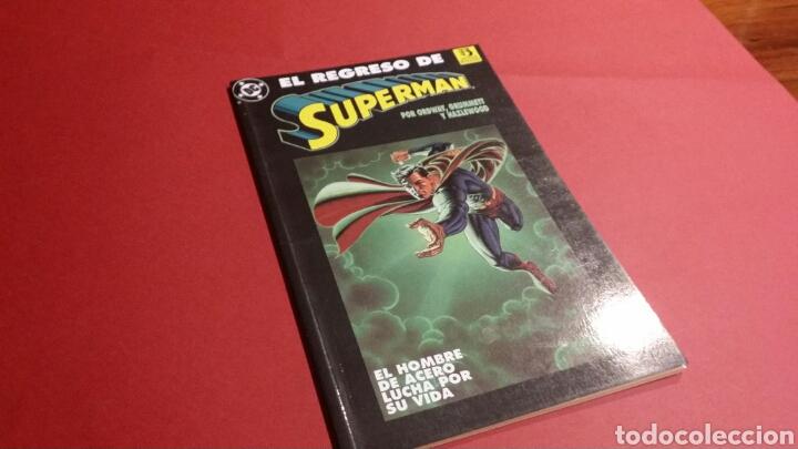 EL REGRESO DE SUPERMAN EXCELENTE ESTADO ZINCO (Tebeos y Comics - Zinco - Superman)