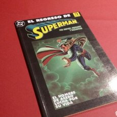 Cómics: EL REGRESO DE SUPERMAN EXCELENTE ESTADO ZINCO. Lote 69361666
