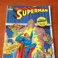 Cómics: SUPERMAN V1 V 1 Nº 1. VUELVE QUIMIK MAS MORTIFERO QUE NUNCA. ZINCO 1984.. Lote 69687557