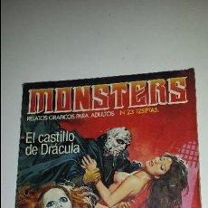 Cómics: MONSTERS (RELATOS PARA ADULTOS) Nº 23. Lote 69726813