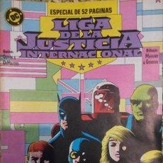 Cómics: LIGA DE LA JUSTICIA INTERNACIONAL Nº 7 A 19 + 2 ESPECIALES. Lote 69797389