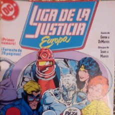 Cómics: LIGA DE LA JUSTICIA EUROPA, Nº 1 A 17 + Nº 29 + ESPECIAL VERANO. Lote 69798489