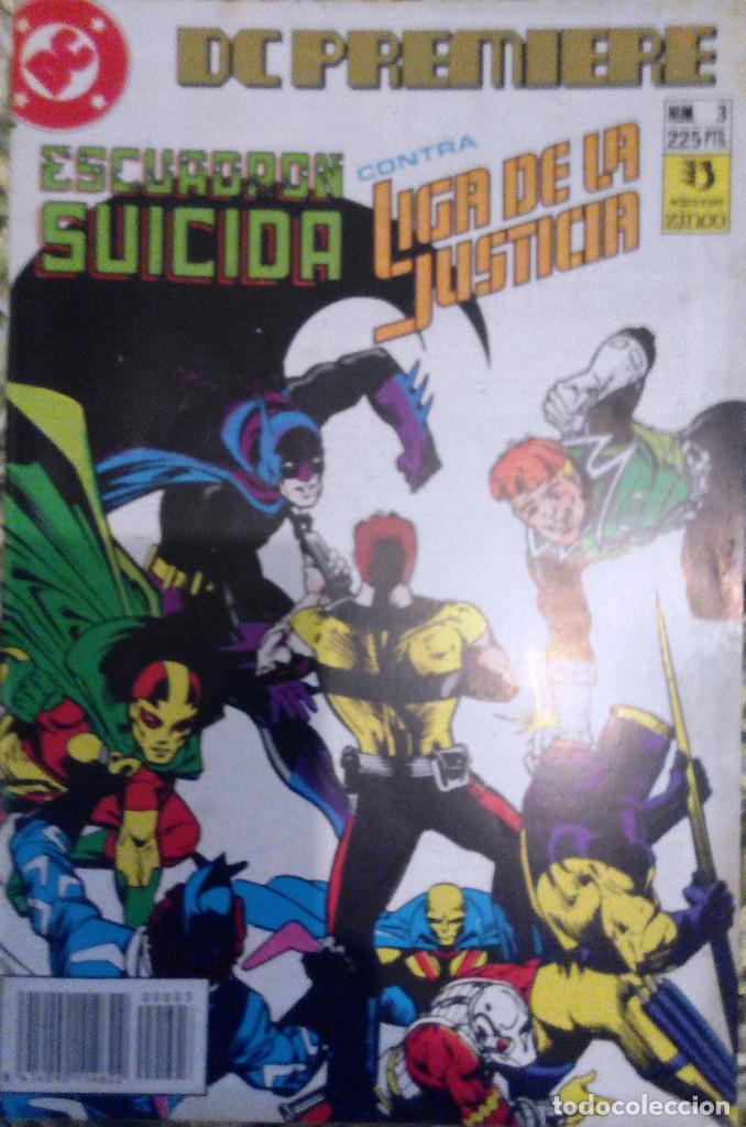 ESCUADRÓN SUICIDA CONTRA LIGA DE LA JUSTICIA. DC PREMIERE. Nº 3. (Tebeos y Comics - Zinco - Liga de la Justicia)
