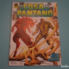 Cómics: COMIC DE LA COSA DEL PANTANO AÑO 1985 Nº 4 DE EDICIONES ZINCO LOTE 6 F. Lote 69844977