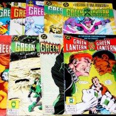 Cómics: GREEN LANTERN (ZINCO), Nº 9,11,12,13,14,15,18,19,21, 22,24,25 Y 26. Lote 69870269