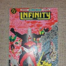 Cómics: DC CÓMICS - INFINITY INC. RETAPADO NÚMEROS 15 AL 18 (EDICIONES ZINCO). Lote 70028833