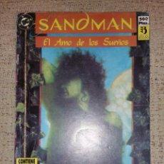 Cómics: DC CÓMICS - SANDMAN RETAPADO NÚMEROS 1 AL 4 (EDICIONES ZINCO). Lote 94342960