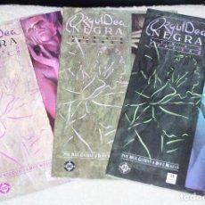 Cómics: ORQUÍDEA NEGRA (NEIL GAIMAN & DAVE MCKEAN.).COLECCIÓN COMPLETA EN TRES TOMOS. Lote 110020078