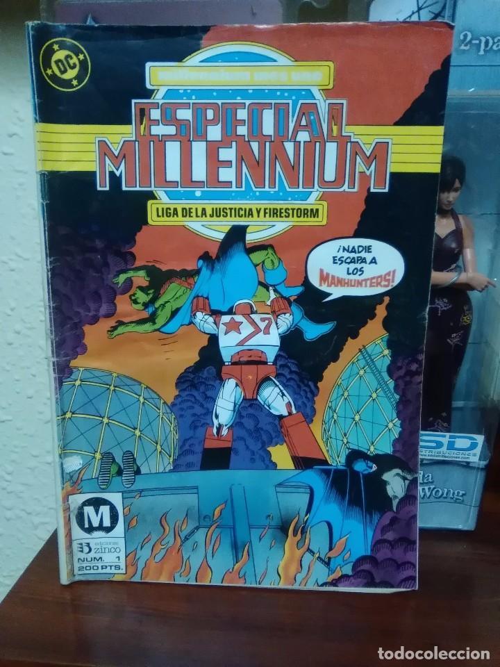MILLENIUM - NUMERO 1 - DC COMICS - ZINCO - MANHUNTER - LIGA JUSTICIA (Tebeos y Comics - Zinco - Millenium)