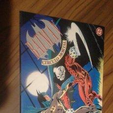 Cómics: BATMAN. CIRCULO MORTAL. MIKE W. BARR. ALAN DAVIS. RÚSTICA. BUEN ESTADO. . Lote 71586991