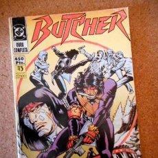 Cómics: BUTCHER (COLECCIÓN COMPLETA 5 NÚMEROS RETAPADOS) ZINCO. Lote 71622495