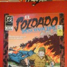 Cómics: EL SOLDADO DESCONOCIDO NÚMERO 1. Lote 95441158