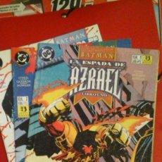 Cómics: BATMAN LA ESPADA DE AZRAEL NºS 1, 2 Y 3 - POSIBILIDAD DE NºS SUELTOS. Lote 71770955