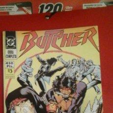 Cómics: THE BUTCHER COMPLETA EN 5 NÚMEROS CON THE BUTCHER Y GREEN ARROW. Lote 71771691