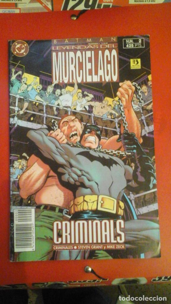 BATMAN LEYENDAS DEL MURCIÉLAGO Nº 2 (Tebeos y Comics - Zinco - Batman)