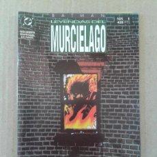 Cómics: BATMAN: LEYENDAS DEL MURCIÉLAGO Nº1, DE DC COMICS / EDICIONES ZINCO.. Lote 71871999