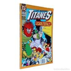 Cómics: LOS NUEVOS TITANES / CAOS TOTAL VOLUMEN DOS / DC / ZINCO 1994 (MARV WOLFMAN & KEVIN MAGUIRE). Lote 72208451