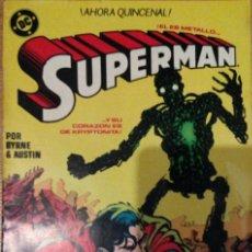 Cómics: SUPERMAN EDICIONES ZINCO LOTE 7 NÚMEROS (6,7,8,10,12,45,109) ÉPOCA JOHN BYRNE. Lote 72268379