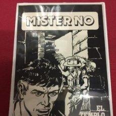Cómics: ZINCO DC FOTOLITO DE TALLER DE PORTADA DE MISTER NO . Lote 72296791