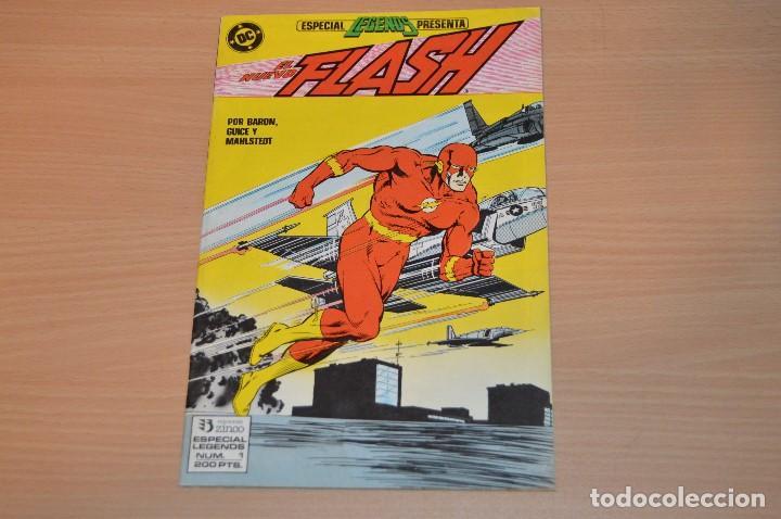 EL NUEVO FLASH - Nº 1 - DC - EDICIONES ZINCO - 1987 - POR BARON, GUICE Y MAHLSTEDT (Tebeos y Comics - Zinco - Otros)