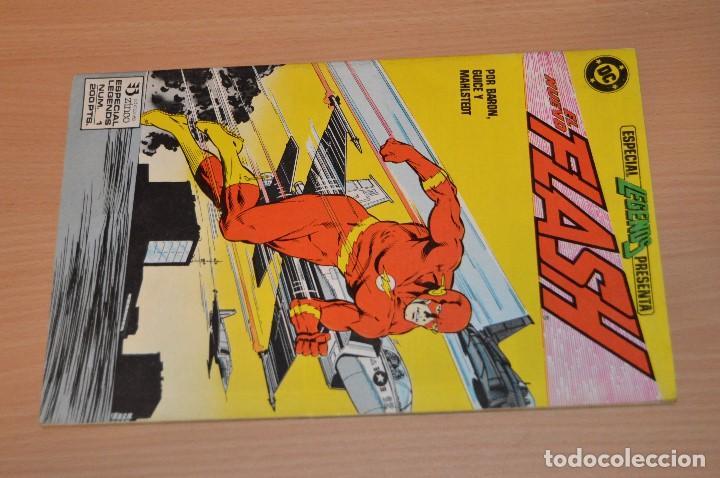 Cómics: EL NUEVO FLASH - Nº 1 - DC - EDICIONES ZINCO - 1987 - POR BARON, GUICE Y MAHLSTEDT - Foto 2 - 72749135