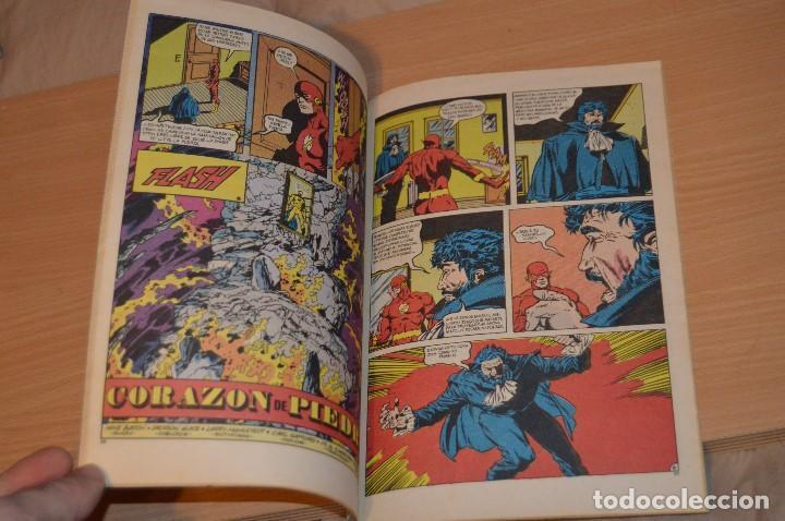 Cómics: EL NUEVO FLASH - Nº 1 - DC - EDICIONES ZINCO - 1987 - POR BARON, GUICE Y MAHLSTEDT - Foto 5 - 72749135
