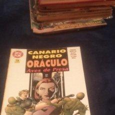 Cómics: CANARIO NEGRO ORACULO AVES DE PRESA. Lote 72863575