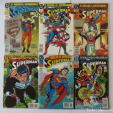 Cómics: SUPERMAN VOL 3 COMPLETA 1 AL 36 ZINCO. Lote 72913759