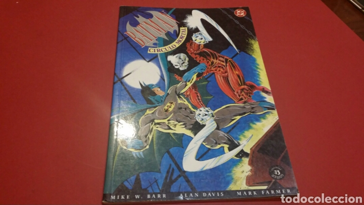 BATMAN CIRCULO MORTAL EXCELENTE ESTADO ZINCO (Tebeos y Comics - Zinco - Batman)