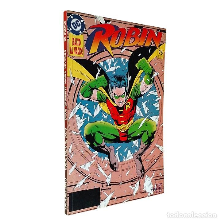 ROBIN / SALTO AL VACIO / DC / ZINCO 1994 (CHUCK DIXON & TOM GRUMMETT) (Tebeos y Comics - Zinco - Prestiges y Tomos)