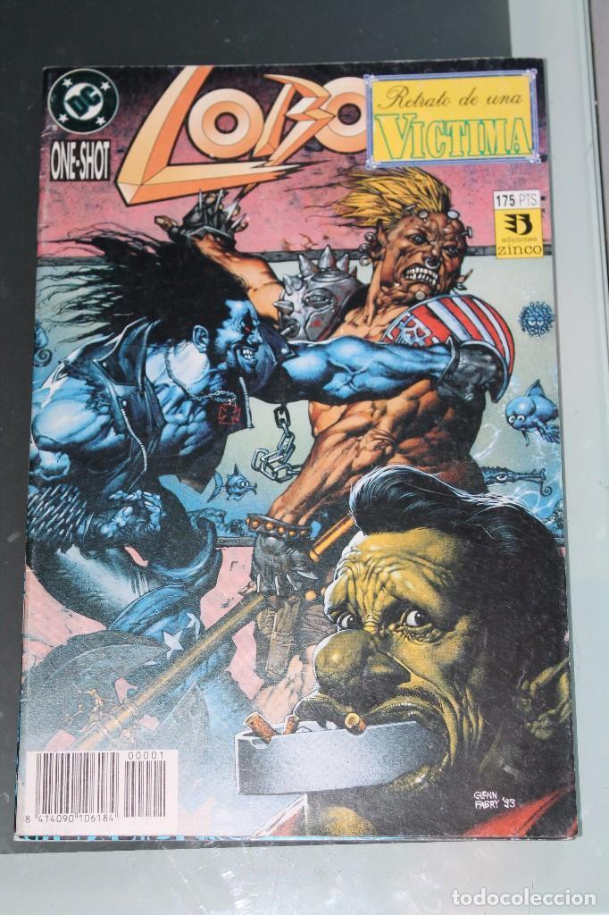 LOBO ONE SHOT RETRATO DE UNA VÍCTIMA ZINCO (Tebeos y Comics - Zinco - Lobo)