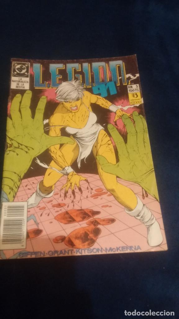 LEGION 91 Nº5 (Tebeos y Comics - Zinco - Legión 91)