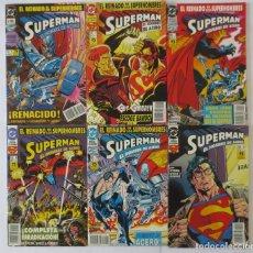 Cómics: SUPERMAN EL HOMBRE DE ACERO COMPLETA. Lote 74080067